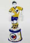 Скульптура «Футболист на подставке» цвет авт. Г. Шестакова