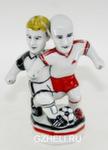 Скульптура «Футболисты Сычев и Онопко» цвет авт. Г. Шестакова