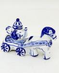 Скульптура «Лошадка с чайником» авт. Г. Шестакова