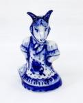 Скульптура «Коза с котомкой» авт. Г. Шестакова
