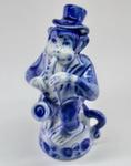 Скульптура «Обезьяна саксофонист» авт. Г. Шестакова