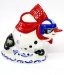 Скульптура «Снеговик шорт-трэк» авт. Г. Шестакова