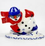 Скульптура «Снеговик слаломист» авт. Г. Шестакова