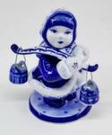 Скульптура «Девочка с коромыслом» авт. М. Тарыгин