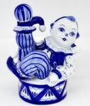 Скульптура «Клоун на барабане» авт. М. Тарыгин