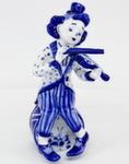Скульптура «Клоун скрипач» авт. М. Тарыгин