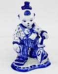 Скульптура «Клоун с зонтом» авт. М. Тарыгин