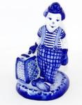 Скульптура «Клоун с чемоданом» авт. М. Тарыгин