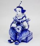 Скульптура «Клоун с балалайкой» авт. М. Тарыгин
