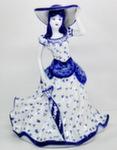 Скульптура «Дама. Леди» колокольчик авт. М. Тарыгин