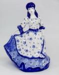Скульптура «Дама. Золушка 2» колокольчик авт. М. Тарыгин