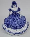 Скульптура «Дама. В чалме» колокольчик авт. М. Тарыгин