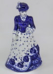 Скульптура «Дама. Дама с собачкой» колокольчик авт. М. Тарыгин