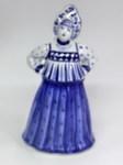 Скульптура «Дама. Купчиха» колокольчик авт. М. Тарыгин