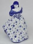 Скульптура «Дама. Юность» колокольчик авт. М. Тарыгин