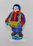 Скульптура «Коробейник» цвет авт. Ю.М.Мухин
