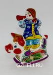 Скульптура «Девочка на поросенке» цвет авт. Ю.М.Мухин