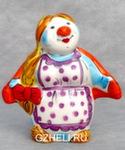 Скульптура «Баба с шалью» цвет авт. Ю.М.Мухин