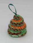 Скульптура «Змея» колокольчик цвет авт. Ю.М.Мухин