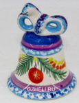 Скульптура «Змейка» колокольчик м. цвет авт. Ю.М.Мухин