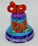 Скульптура «Змейка» колокольчик б. цвет авт. Ю.М.Мухин