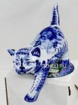 Скульптура «Кот на полку» авт. Ю.М.Мухин