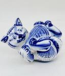 Скульптура «Кот с клубком» авт. Ю.М.Мухин