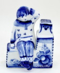 Скульптура «Емеля» авт. Ю.М.Мухин