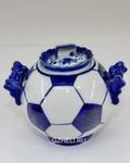 Скульптура «Мяч. Ворота» сахарница авт. Ю.М.Мухин
