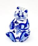 Скульптура «Кот рыбак» солонка авт. Ю.М.Мухин