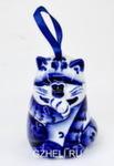 Скульптура «Кот» колокольчик авт. Ю.М.Мухин