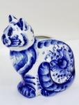 Скульптура «Кошка» салфетница авт. Ю.М.Мухин