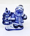 Скульптура «Дед Мороз с ёлкой» авт. Ю.М.Мухин