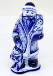Скульптура «Дед Мороз с зайцами» авт. Ю.М.Мухин