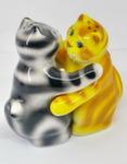 Скульптура «Коты» специя цвет авт. Ю.М.Мухин