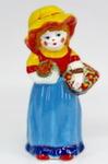 Скульптура «Девочка с корзиной» цвет авт. Ю.М.Мухин