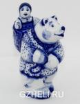 Скульптура «Маша и медведь» авт. Е. Сухорукова