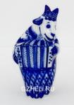 Скульптура «Коза с баяном» авт. Е. Сухорукова