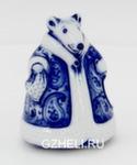 Скульптура «Пляшущая мышь» авт. Е. Сухорукова