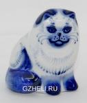 Скульптура «Кот персидский» большой авт. Е. Сухорукова