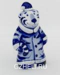 Скульптура «Тигр дед Мороз» авт. Е. Сухорукова