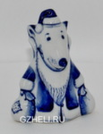 Скульптура «Крыс дед Мороз» авт. Е. Сухорукова
