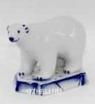 Скульптура «Белый медведь» авт. Е. Сухорукова
