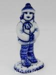 Скульптура «Девочка со щенком» авт. Е. Сухорукова