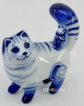Скульптура «Кот с мышью» авт. Е. Сухорукова