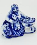 Скульптура «Бабушкины сказки» авт. Е. Сухорукова