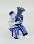 Из серии скульптур «Музыканты. Тубист» авт. В. Неплюев и С. Жукова