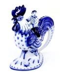 Скульптура «Петух с мальчиком» авт. А. Ларин