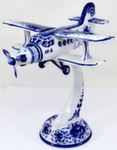 Скульптура «Самолёт АН - 3» воздух авт. А. Ларин