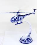 Скульптура «Вертолёт МИ - 34» воздух лыжи авт. А. Ларин